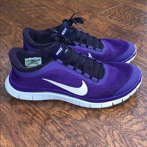 promo code 4fd3b 9af14 Women Nike Free 3.0 Running Shoes on Poshmark